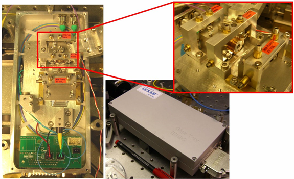 Figure 3: Picture of the short pulse 12.5 GHz ERGO laser produced in the framework of MultiWave for channel spacing upgrade experiments at NTUA
