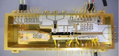 Figure 8: Prototype of 100 Gb/s integrated optical interconnect.